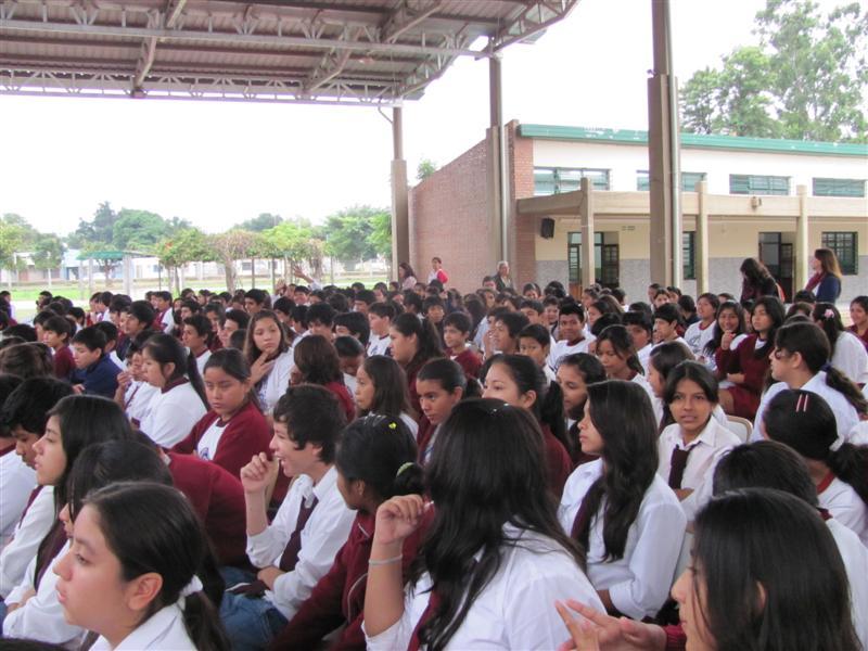 Album de Fotos: Charla con alumnos de Tartagal