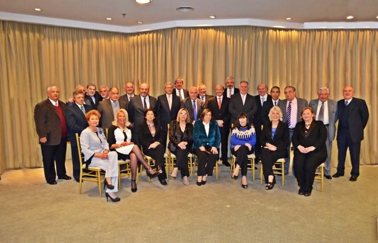 Jueces de Corte compartieron una cena de camaradería con magistrados que se jubilaron.