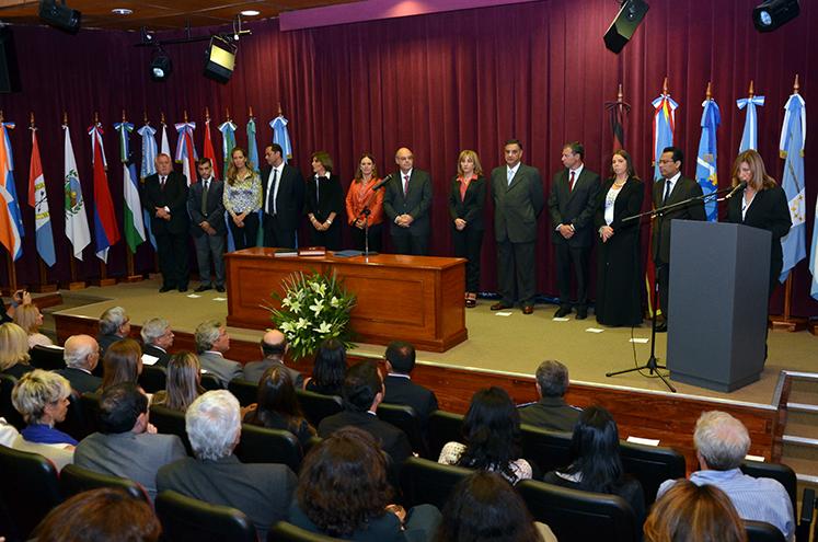 Consejeros representantes de la Corte, Ministerio Público y Colegio de Abogados