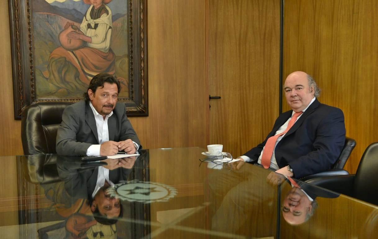 Album Encuentro entre el Gobernador y el Procurador