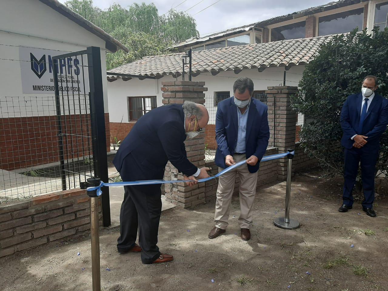 Album de Fotos: Inauguración de la Delegación Fiscal de Villa San Lorenzo