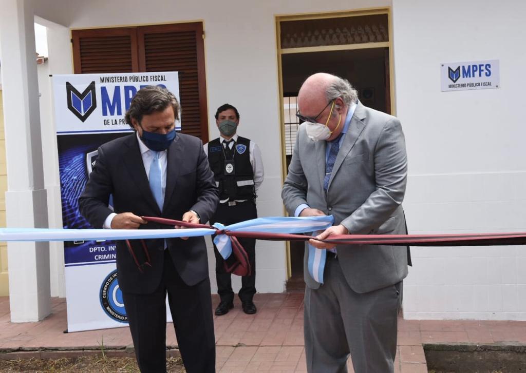 Album de Fotos: Inauguración de la sede del Cuerpo Especializado de Investigadores (CEI)