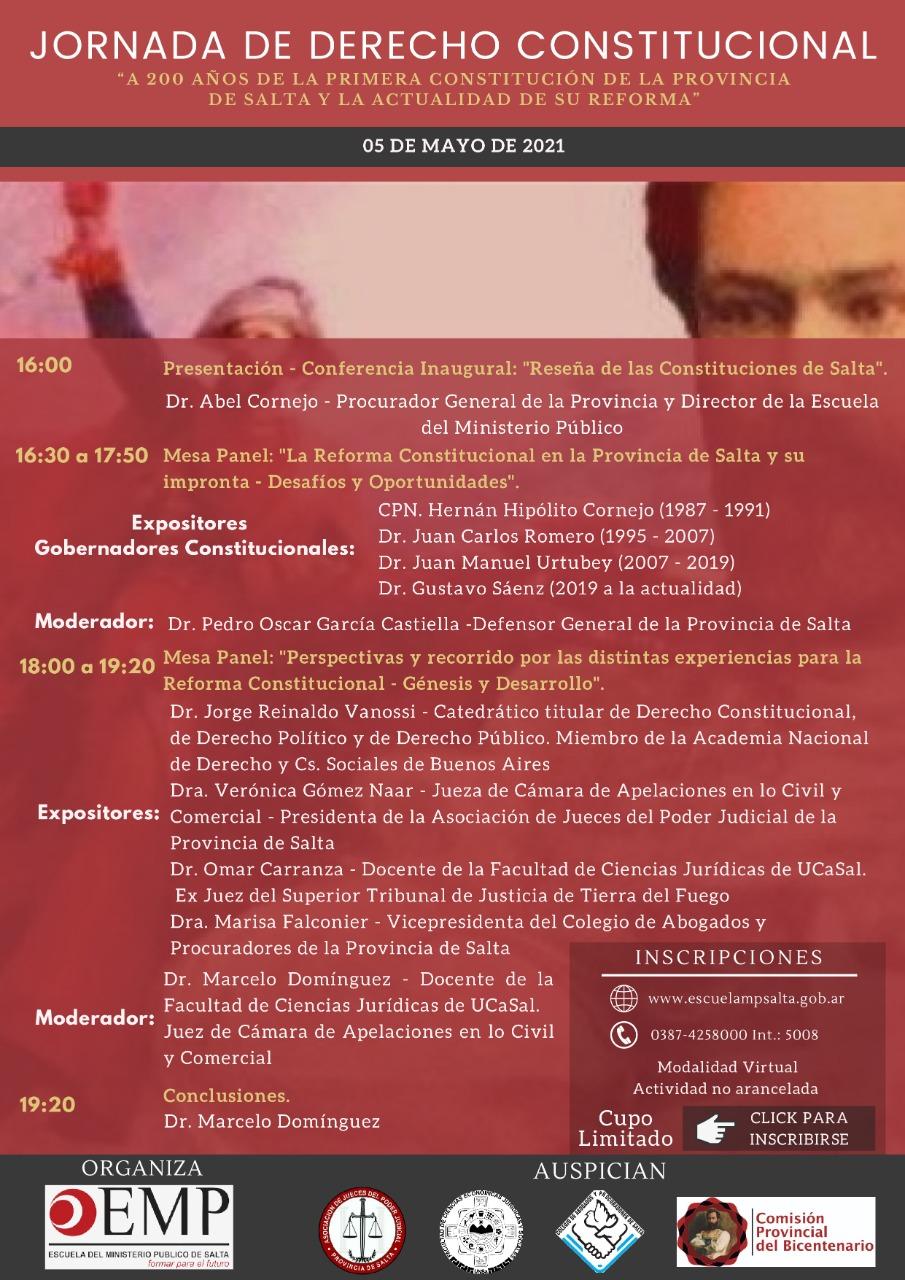 Album de Fotos: Jornada de Derecho Constitucional