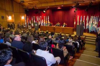 Foto: Jueces, magistrados, funcionarios, invitados especiales participaron de la presentación.