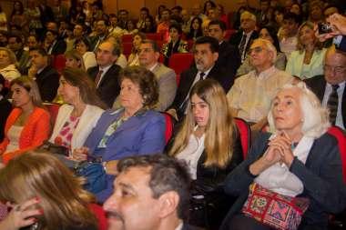 """Foto: El lanzamiento se realizó en el salón auditorio """"Dr. Facundo de Zuviría"""" de la Ciudad Judicial."""