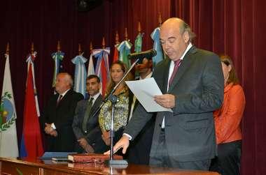 Foto: Abel Cornejo jura como presidente del cuerpo