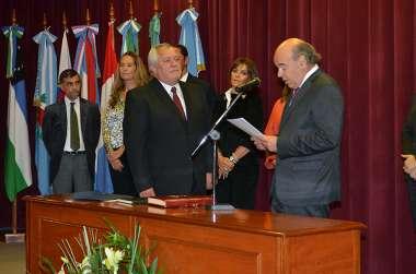 Foto: Guillermo Catalano jura como consejero suplente