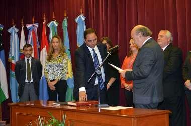 Foto: Eduardo Romani, consejero en representación del Colegio de Abogados