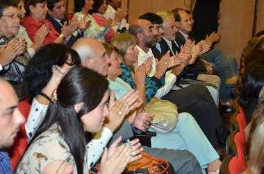 Foto: Magistrados, funcionarios, familiares y amigos presenciaron el acto en Ciudad Judicial