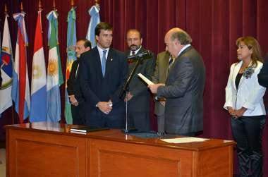 Foto: El diputado Matías Posadas juró como consejero suplente