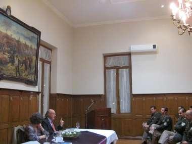 Foto: Cornejo se refirió a la estrategia de Güemes en la organización del Cuerpo de Línea de Los Infernales.