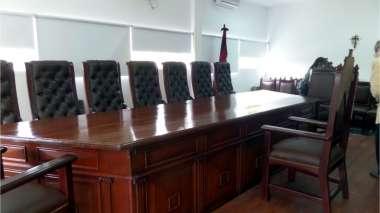 Foto: Sala de entrevistas personales