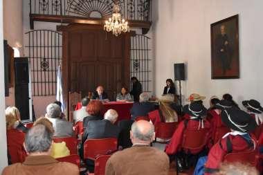 Foto: Sala del museo donde se ofreció la conferencia