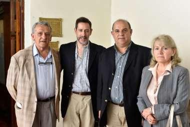 Foto: Gregorio Caro Figueroa, Leandro Plaza Navamuel, Ricardo Alonso y María Irene Romero.