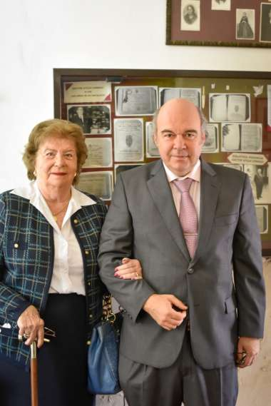 Foto: Abel cornejo junto a su madre, Alicia Castellanos