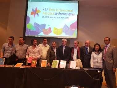 Foto: Expositores de la 44º Edición de la Feria Internacional del Libro