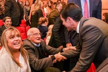 Foto: El Dr. Juan Manuel Urtubey y el Ex Procurador Dr. Ramón  Alberto Catalano