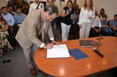 Foto: El Señor Secretario de Justicia Pedro García Castiella
