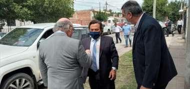 Foto: Gobernador Dr. Gustavo Sáenz- Procurador General Dr. Abel Cornejo