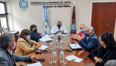 Funcionarios municipales presentaron al equipo de Salud de la Provincia los detalles del plan de Seguridad Vial.