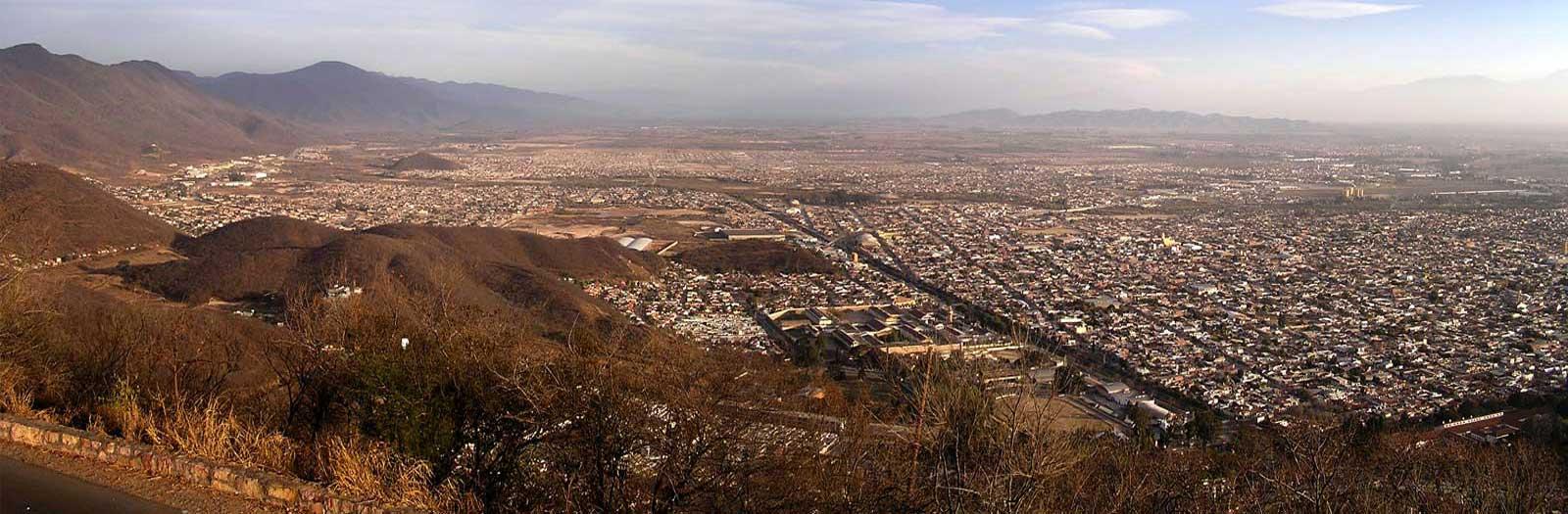 Vista de la Ciudad de Salta, Cerro San Bernardo, Salta